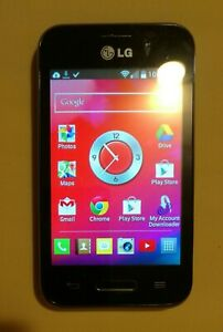 TracFone LG LGL34C Optimus Fuel Android 4.4 Smartphone