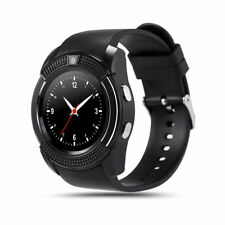 Bluetooth Smart Watch Round Screen Support SIM Card Camera SmartWatch Android