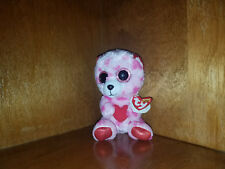 AUTHENTIC w/tags Ty Beanie Boo Valentine Bear Sweetikins