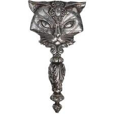 Sacred Cat Hand Mirror Gothic Medieval Victorian Handheld Make-Up Accessory Gift