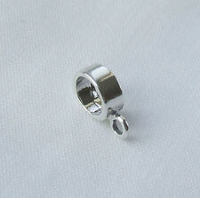 EUROPEAN STYLE CHARM CARRIER FOR BRACELET DANGLE BEAD 925 STERLING SILVER