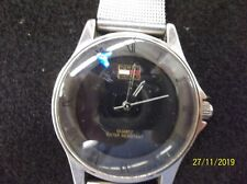 Vintage Mens Tommy Hilfiger Designer Watch 1238 Steel Mesh band - runs great