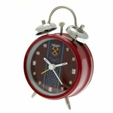 West Ham United F.c. Alarm Clock Es Football Fan Gift Official Licensed