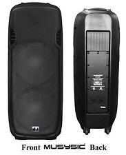 """MUSYSIC Professional Dual 2x15"""" 2000 Watts Passive Plastic Body Speaker MU-S215P"""