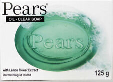 3 Packs X  Pears Oil Clear Transparent Soap - With Lemon Flower Extracts 125g