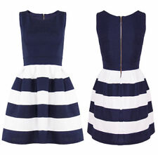 All Seasons Party Striped Dresses for Women