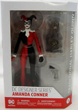 """DC COMICS DESIGNER SERIES Connor Traditional Harley Quinn 7"""" action figure NEW!"""