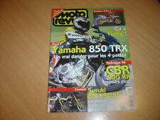 Moto revue N° 3205 Yamaha TRX 850.Suzuki DR 650 SE