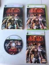 TEKKEN 6 game - Xbox 360 - W/ Case, Manual