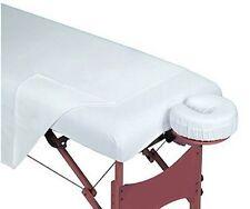 1 New White Soft Poly Cotton Massage Table Sheet Flat Large Size 54X90 T-130