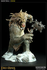 SIDESHOW LORD OF THE RINGS, SNOW TROLL POLYSTONE STATUE 47CM