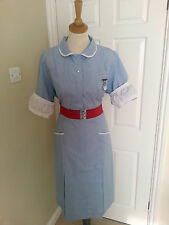 Brand New Old Stock Vintage Genuine English Nurse Uniform Dress Call the Midwife