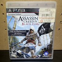 Assassin's Creed IV: Black Flag (Sony PlayStation 3, 2013) Tested -Fast Shipping