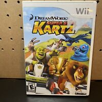 DreamWorks Super Star Kartz (Nintendo Wii, 2011) Racing Game - Tested