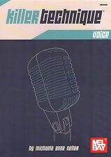 KILLER tecnica di esercizio Vocale Vocal Music Book Vocals Technic neller