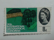 QUEEN ELIZABETH 11 - STAMP - 8d