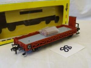 Liliput HO DB Flat Stake Wagon With Stakes Box 1482 (V)