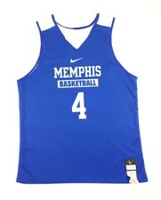 a66729d7a16 New Nike Men's L Memphis Tigers Reversible Elite Basketball Jersey Blue  683312