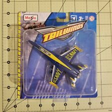 Maisto Tailwinds FA/18 Hornet ( BLUE ANGELS ) Paint Die-Cast Airplane 1:87 Scale