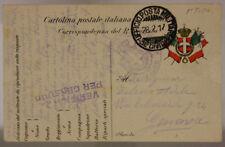POSTA MILITARE 31^ DIVISIONE 28.2.1917 TIMBRO DI REPARTO #XP280M