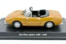 MODELLINO AUTO FIAT DINO SPIDER SCALA 1:43 DIECAST MODELLISMO STATICO NOREV