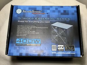 Silverstone SST-ST40F-ES 400 Watt 400W Computer Power Supply PSU New In Package