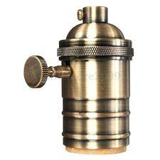 E26/E27 Retro Vintage Antique Edison Brass Copper Lamp Light Bulb Holder Socket