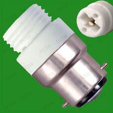 Bayoneta, BC, B22 a G9 Halógeno O Led Bombilla Adaptador socket para lámpara de Convertidor