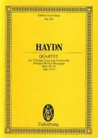 Haydn: String Quartet in A Major Hob. III 60 (Op. 55/1) (Min ETP143