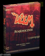 DZEM - SYMFONICZNIE / live Bluray + 3 CD /sealed