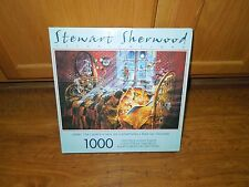 Sure-Lox 1000 Piece Puzzle Under the Covers Stewart Sherwood Illustrations NEW