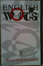 English Words by Francis Katamba (1994, Paperback, Illustrated) Morphology