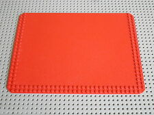 LEGO VINTAGE Homemaker red Baseplate 24 x 32 ref 785 / set 264 livingroom