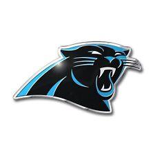 Carolina Panthers Emblem Sticker Raised NFL Team Auto Emblem