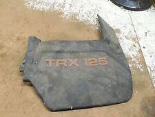 honda trx125 fourtrax trx 125 right rear fender mud flap guard flare 1985 1986