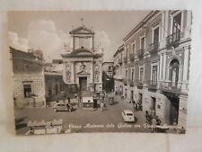 Vecchia cartolina foto d epoca di Pagani chiesa Madonna galline Piazza Municipio