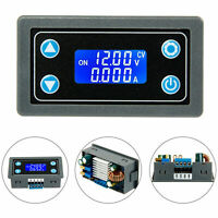 Power Supply Module Adjustable Constant Voltage Buck Boost W/LCD Display Module