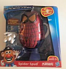 The Amazing Spider Man SPIDER SPUD Mr Potato Head Playskool NEW IN BOX 2011