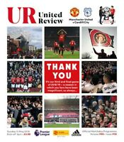 Manchester United v Cardiff City - FA Premier League Programme