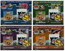 Set of 4 Pokemon 2018 World Championship Decks contains pin code box 60 cards