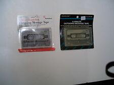 RadioShack 43-439 5-Minute Leaderless Cassette Tape Quantity of 2