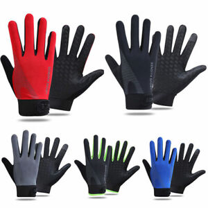 Unisex Touch Screen Full/Half Finger Cycling Sports Gloves Breathable Anti-Slip