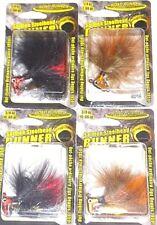 Blakemore  3/8-1/4 Salmon Steelhead Runner Maribou Jigs (Lot of 4-SSR11)
