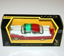 Road Signature - FORD CROWN VICTORIA (1955) Red - Model Scale 1:43