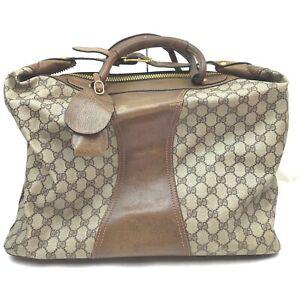 Gucci Boston Bag  Browns PVC 1413969