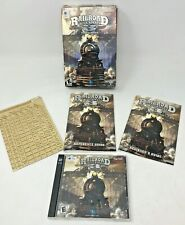 Railroad Tycoon 3 Video Game for the Mac Includes Manuals 2 Disc and Chart