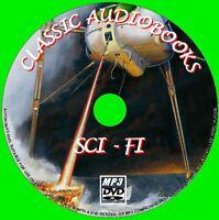 17 BEST SCI-FI NOVELS MP3 AUDIO BOOK PCDVD SCIENCE FICTION CLASSICS FRANKENSTEIN