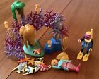 PLAYMOBIL UNDERSEA SCUBA DIVER MERMAID CORAL REEF FISH And Other Creatures