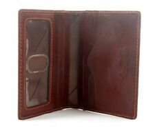 Tony Perotti Italian Leather Front Pocket Weekender Wallet with ID