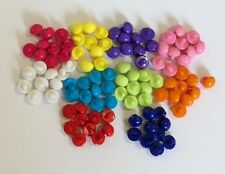 10mm Bright Shank Buttons Single Colour 10 20 50 Pcs BT020 Aussie Seller